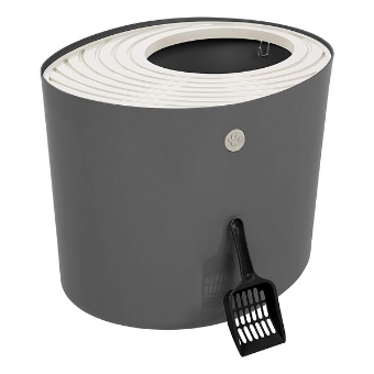Top Entry Cat Litter Box with Cat Litter Scoop